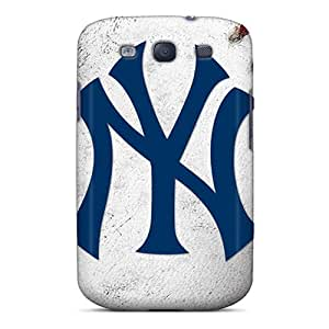 Excellent Hard Phone Covers For Samsung Galaxy S3 (mLT15158LHzj) Support Personal Customs Beautiful New York Yankees Pictures
