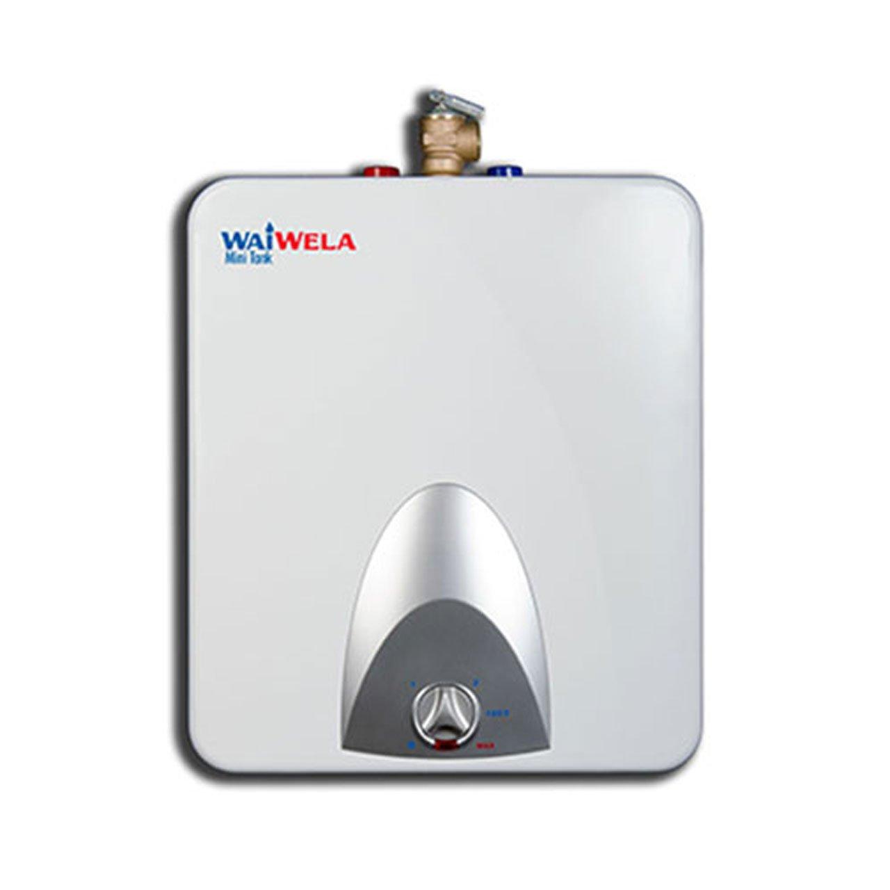 WaiWela WM-1.0 Mini Tank Water Heater, 1.3-Gallon