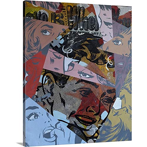 (GREATBIGCANVAS Gallery-Wrapped Canvas Entitled Love is Where by Dan Monteavaro 10