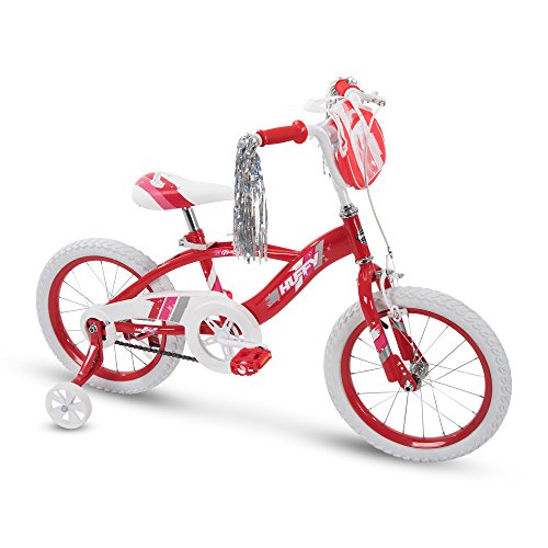 "16"" Huffy Glimmer Girls Bike, Red"