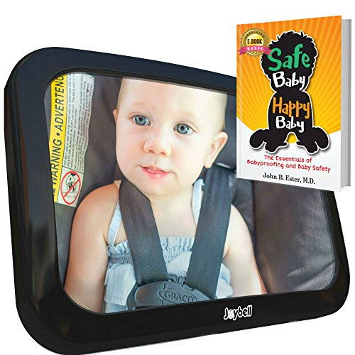 Baby Car Mirror for Back Seat, Strong Clamp Attachment New for 2018 – View Infant in Rear  ...