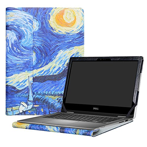 Alapmk Protective Case Cover For 13.3 Dell Inspiron 13 2-in-1 5378 5368 5379 i5378 i5368 i5379 Laptop(Warning:Only fit model 5378 5368 5379),Starry Night