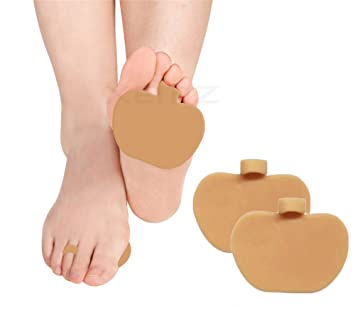 Gel Forefoot Pads, Metatarsal Ball of Foot Cushions, Soft Orthotic Half Insoles, Metatarsal