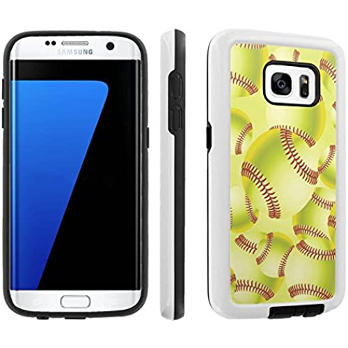 [Galaxy S7] [5.1 Screen] Armor Case [Skinguardz] [White/Black] Shock Absorbent Hybrid - [SoftBall] for Samsung Sales