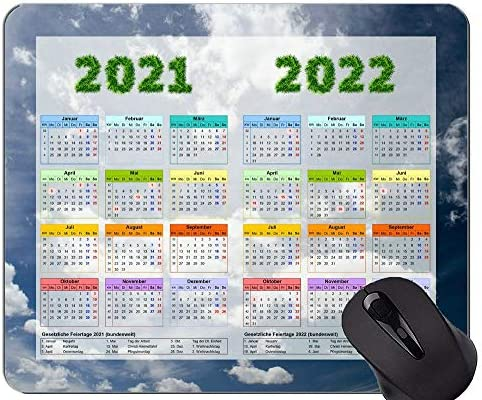 Weather Calendar 2022.Calendar For 2021 2022 Years Mouse Pad Sky Clouds Cloudy Weather Mousepads Buy Online At Best Price In Uae Amazon Ae