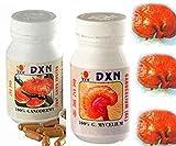 DXN Reishi Ganoderma & Ganocelium Capsules- Fruit & Root - RG & GL (90 + 90 Capsules)