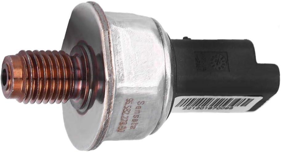 Qiilu Fuel Rail Pressure Sensor Car Oil Rail High Pressure Sensor 55PP06-03 for Car MK2 Mk5 FUSION 55PP06-03