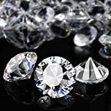 YGDZ Clear Acrylic Diamonds, 30mm Big Crystal Diamond for Wedding Party Decoration Table Scatter Bridal Shower Vase Fillers, 1.5 Pounds