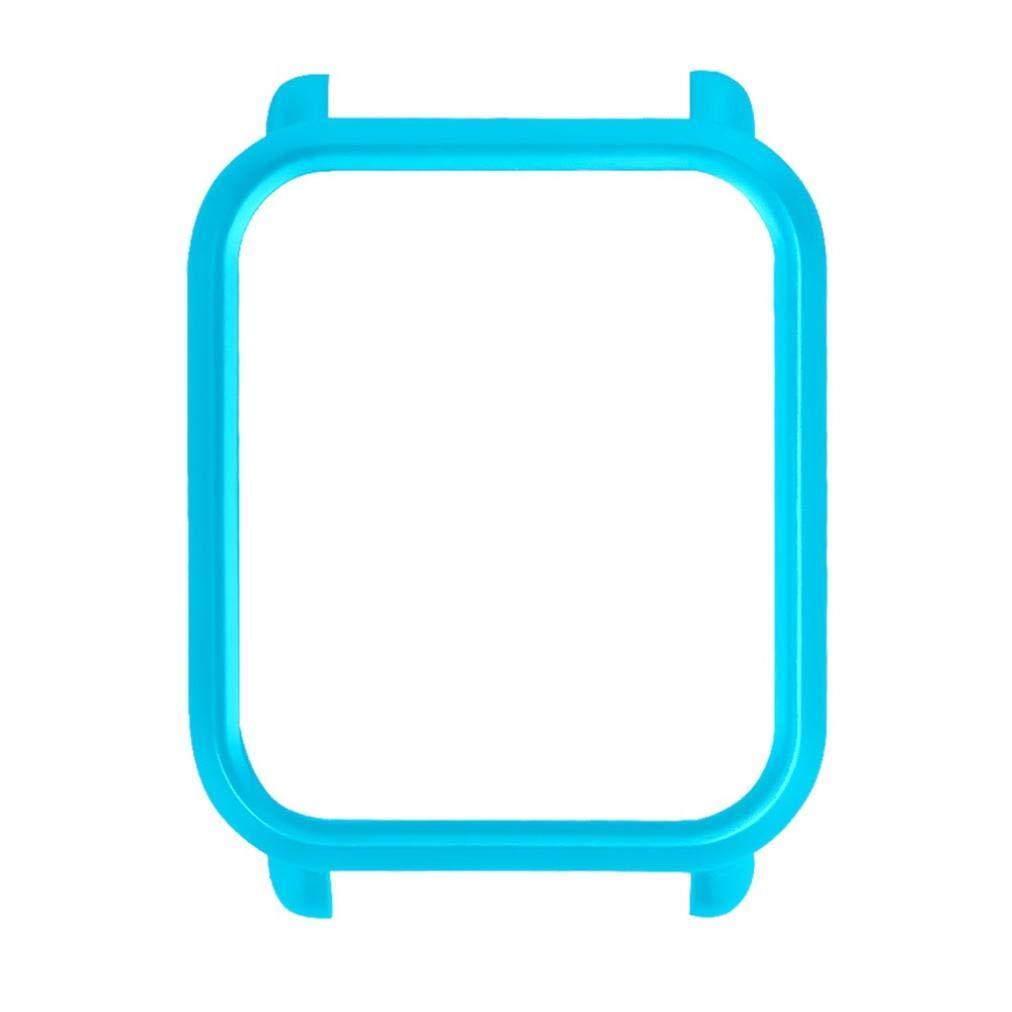 Protector para xiaomi huami amazfit bip Youth,☀️Modaworld Colorida Carcasa de PC Funda Proteger Carcasa para Xiaomi Huami Amazfit Bip Youth Watch ...