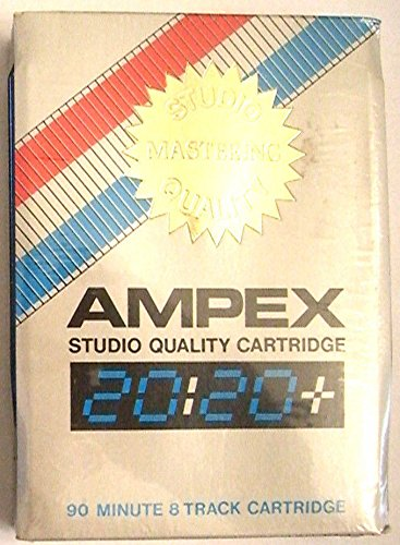(Ampex Studio Quality 90 Minute Blank 8 Track Tape Cartridge)