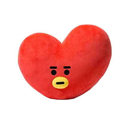 "KPOP Cute Cartoon BTS BT21 Plush Doll Toy Bangtan Boys Throw Pillow Cushion 17.7""x"