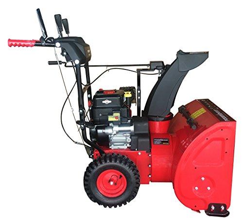 PowerSmart DB7651BS-24 2-Stage Briggs & Stratton Gas Snow Blower, 24