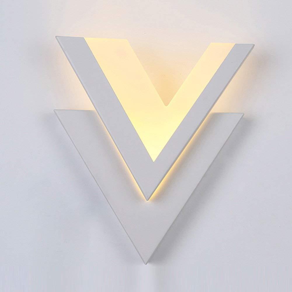 Unbekannt SCH Mini-LED-Lampe mit LED-Lampe für Kunsthandwerker-Lampe für Kinderzimmer mit Glasplatte für Couloir-Lampen