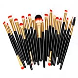 Best Auto Eyeliners - Coper 12PCS Women Make Up Brush Cosmetic Concealer Review