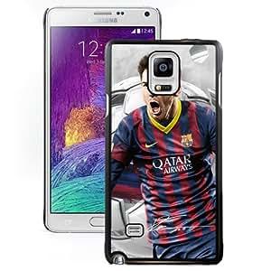 NEW Fashion Custom Designed Case Soccer Player Lionel Messi 18 Samsung Galaxy Note 4 N910A N910T N910P N910V N910R4 Cell Phone Case