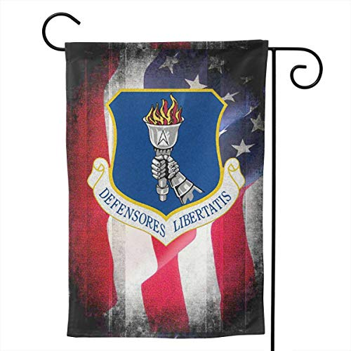 Ellive Air Force 319th Air Refueling Wing 12 X 18 Inch Outdoor Yard Flags, Decorative House Yard Flag, Polyester, Durable