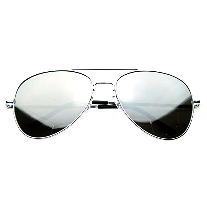 Amazon.com: SWG Eyewear Aviator One Way Espejo anteojos de ...