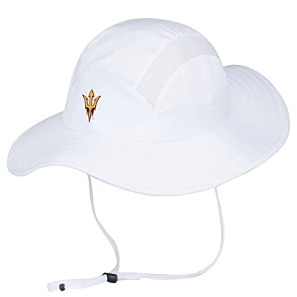 813e0bdaf5c ... best price arizona state sun devils adidas sideline uv protective  climalite safari hat e1955 bed04