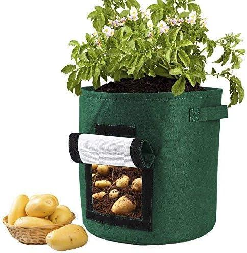 YHNJI - Bolsa para Plantar Patatas, Verduras, Plantas, Plantas ...