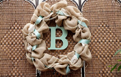 Craft Burlap Ribbon No Fray Edges 6 Inches by 50 Yards Wreath Ribbon by Burlap and Beyond (Image #5)
