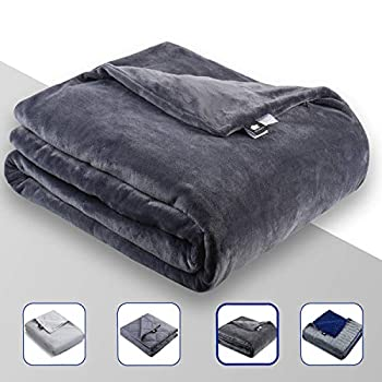 Image of DREAMality Premium Weighted Blanket Cover - Fits 80'x87' King Size Weighted Blanket Adult or for Kids - Microplush Fleece Duvet Throw Covers for Heavy Blankets - Removable & Machine Washable DREAMality B0824TNTM1 Weighted Blankets