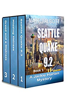 Jackie Harlan Mysteries Box Set by [Talbott, Marti]