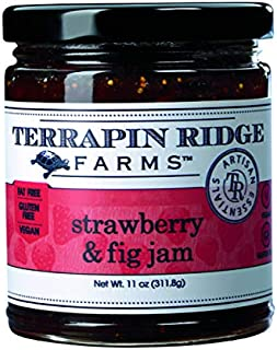 product image for Strawberry and Fig Jam by Terrapin Ridge Farms – One 11 oz Jar