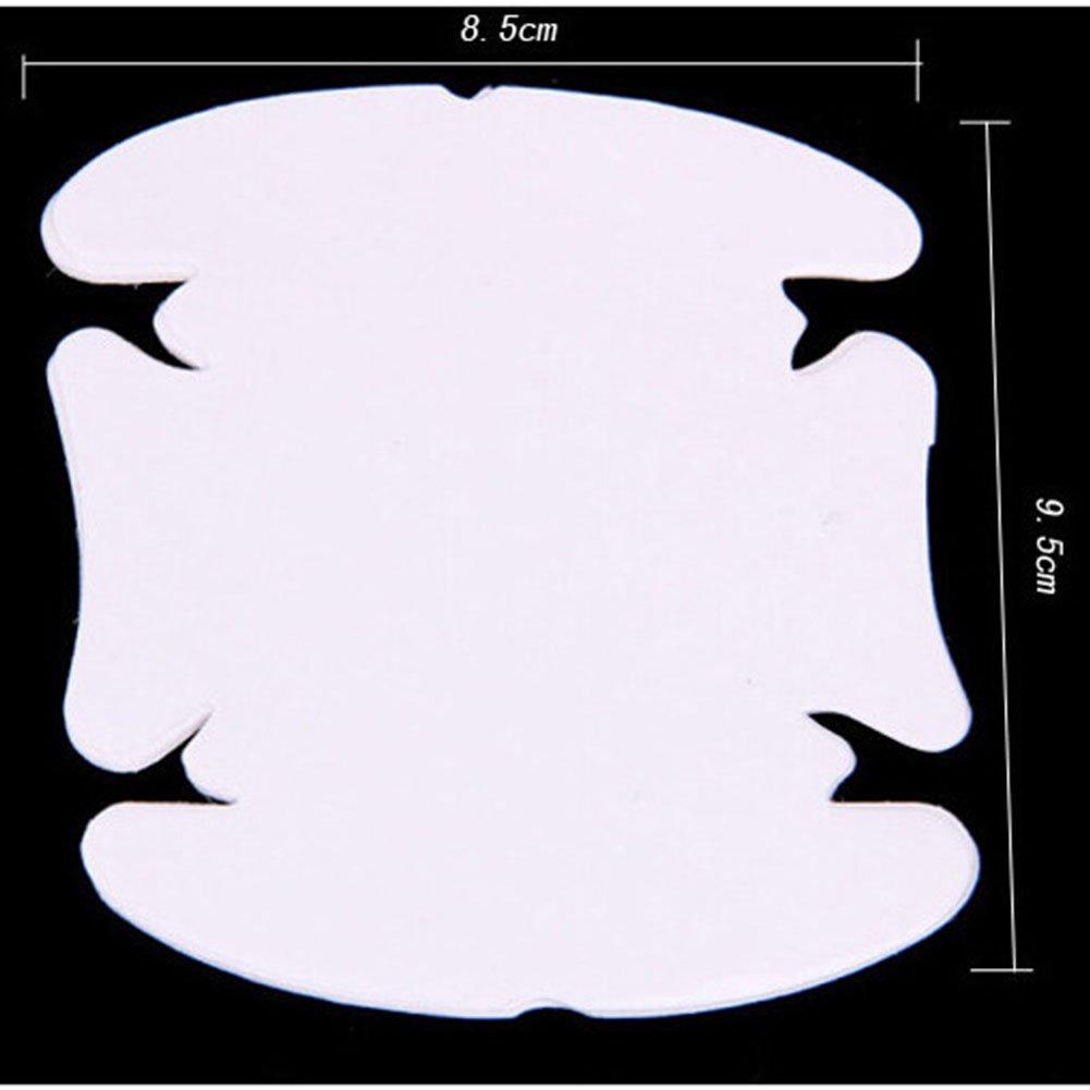 auto maniglia membrane graffi resistente cover Trasparente adesivo auto porta manubrio chiavi pellicole di protezione antigraffio