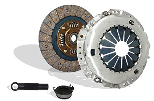 (Clutch Kit Set Works With Toyota Solara Celica Mr-2 Camry Ce Le Xle Dx Base Gts Le All Trac 1990-2001 2.2L l4 GAS 2.2L l4 GAS DOHC Naturally Aspirated (Flywheel Spec: +.020; Engine: 5SFE))