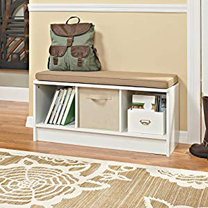 ClosetMaid Cubeicals 3 Cube Storage Bench
