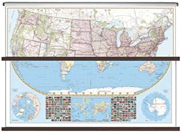 Universal Map 26115 US-World Large Scale ... - Amazon.com
