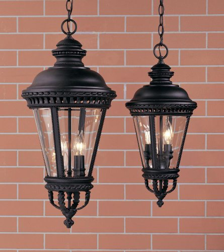 Castle Bronze Outdoor Hanging Lantern (Feiss Castle Outdoor Hanging Lantern - 27.25H in.)