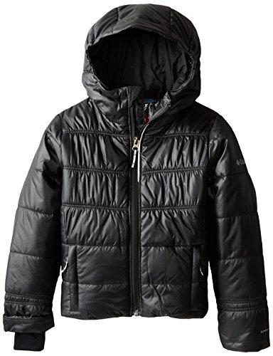 Columbia Girl's Shimmer Me II Jacket, Black, XX-Small