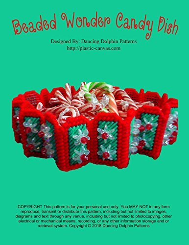 Needlepoint Candy (Beaded Wonder Candy Dish: Plastic Canvas Pattern)