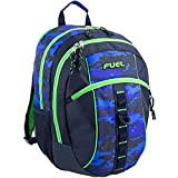 D&A 18'' Blue Green Multi Camouflage Pattern Backpack, Beautiful Camo Army Love