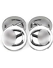 4 stuks Auto Hub Caps Hub Center Caps, voor Mazda 3 6 60mm Naafdeksels Met Logo Wheel Center Auto Styling Accessoires