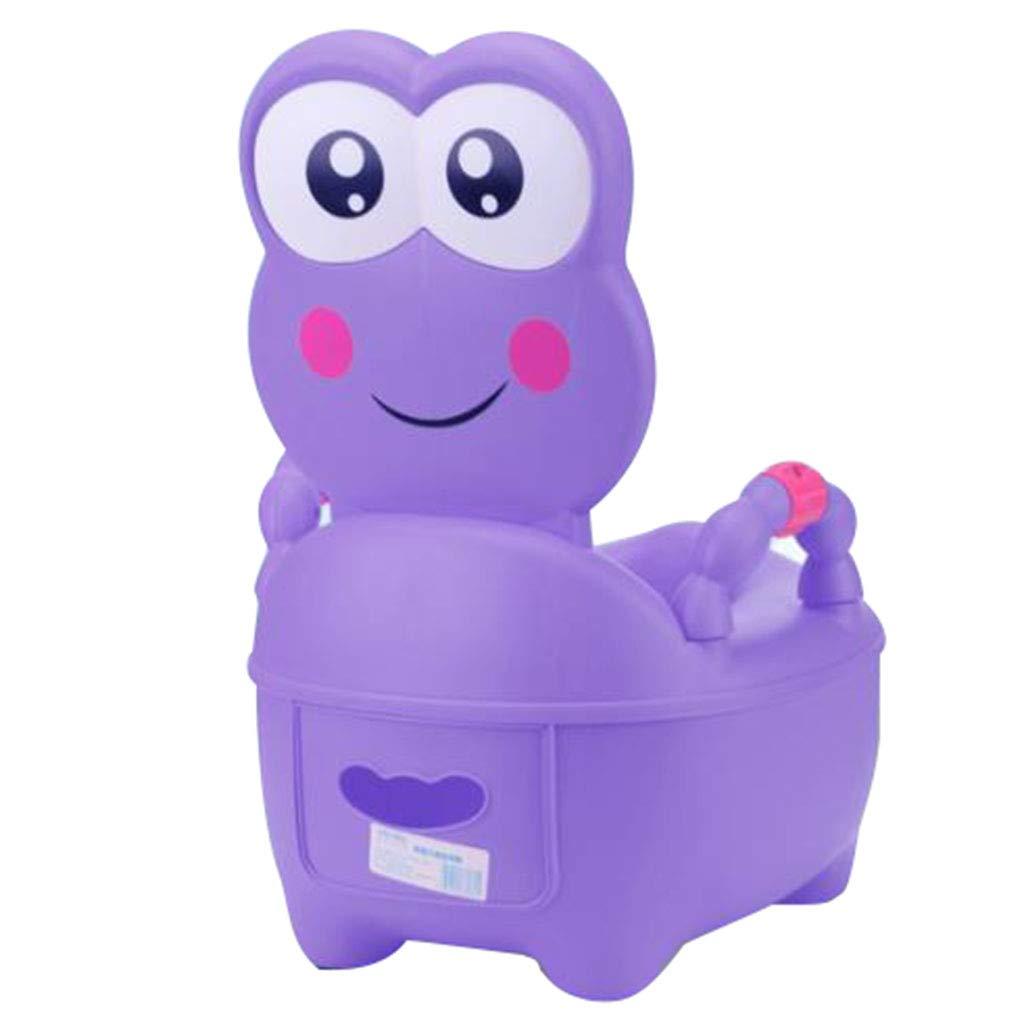子供用トイレ子供用トイレトレーニング小さなスツールABSトイレ1-7歳の子供に適して60KGに耐えることができます おむつトイレ (Color : Purple, Size : 32*37*49cm/13*15*19inch) 32*37*49cm/13*15*19inch Purple B07KFXNYR4