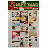100 Holiday Gift Tags by Caspari