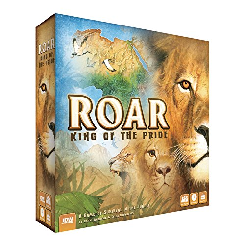 IDW Games Roar: King of the Pride Strategic Board Game by IDW Games
