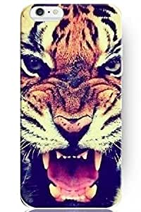 SPRAWL New Creative Design Roaring Tiger Face Snap On Hard Cover Shell Animal Print Iphone 6 Case ?4.7 Inch?