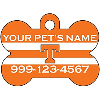 Wisconsin Badgers Pet Id Tag for Dogs /& Cats Personalized w// Name /& Number