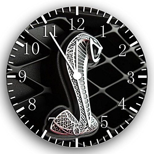 Mustang Cobra Shelby GT Frameless Borderless Wall Clock W181 Nice for Gift or Room Wall Decor