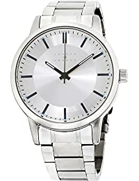 Silver Dial Stainless Steel Mens Watch JA3190S648-004