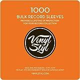 """Vinyl Styl 12.75"""" X 12.75"""" 3 Mil Poly Sleeve 1000"""