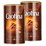 Caotina original, Cocoa Powder with Swiss Chocolate, Hot Chocolate, 2 Pack, 2 x 500g