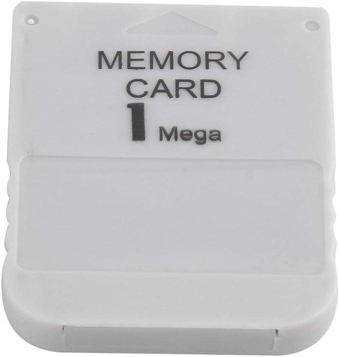 Dailyinshop PS1 Carte m/émoire 1 Mega Carte m/émoire pour Playstation 1 Un Jeu PS1 PSX utile