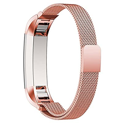 Fitbit Alta Bands, AutumnFall Milanese Magnetic Loop Stainless Steel Band For Fitbit Alta Smart Watch