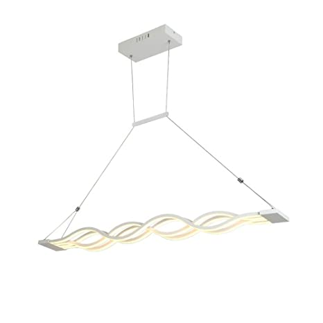 Modern LED Pendant Lamp for Living Room Bedroom Kitchen Modern Lamparas Colgantes AC90-260V Pendant Lights Hanging lamp, Dimmable - - Amazon.com