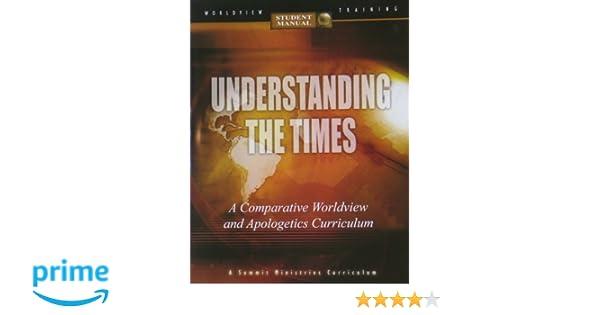 understanding the times student manual noebel 9780936163031 rh amazon com Realidades 2 Workbook Answer Key Spanish 1 Workbook Pg 35