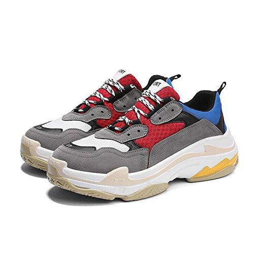 Men's Shoes Feifei Leisure Fashion Lovers Tide Shoes 4 Colors (Size Multiple Choice) (Color : 03, Size : EU39/UK6.5/CN40)